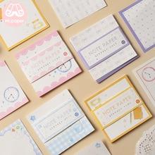 Mr paper, 30 шт./лот, 16 видов конструкций, милые, квадратные, красочные блокноты для заметок, блокнот с отрывными листами, дневник, пишущие точки, креативные блокноты для заметок
