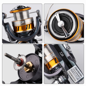 Image 5 - DAIWA REGAL LT fishing spinning reels 1000D 2000D 2500D 2500DXH 3000DC 3000DCXH 10BB Air Rotor Aluminum Spool Fishing wheels