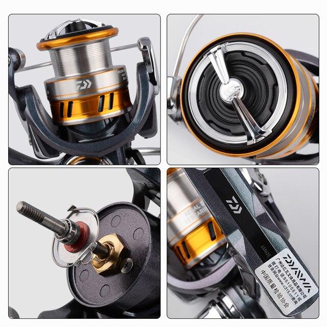DAIWA REGAL LT fishing spinning reels 1000D 2000D 2500D 2500DXH 3000DC 3000DCXH 10BB Air Rotor Aluminum Spool Fishing wheels 5