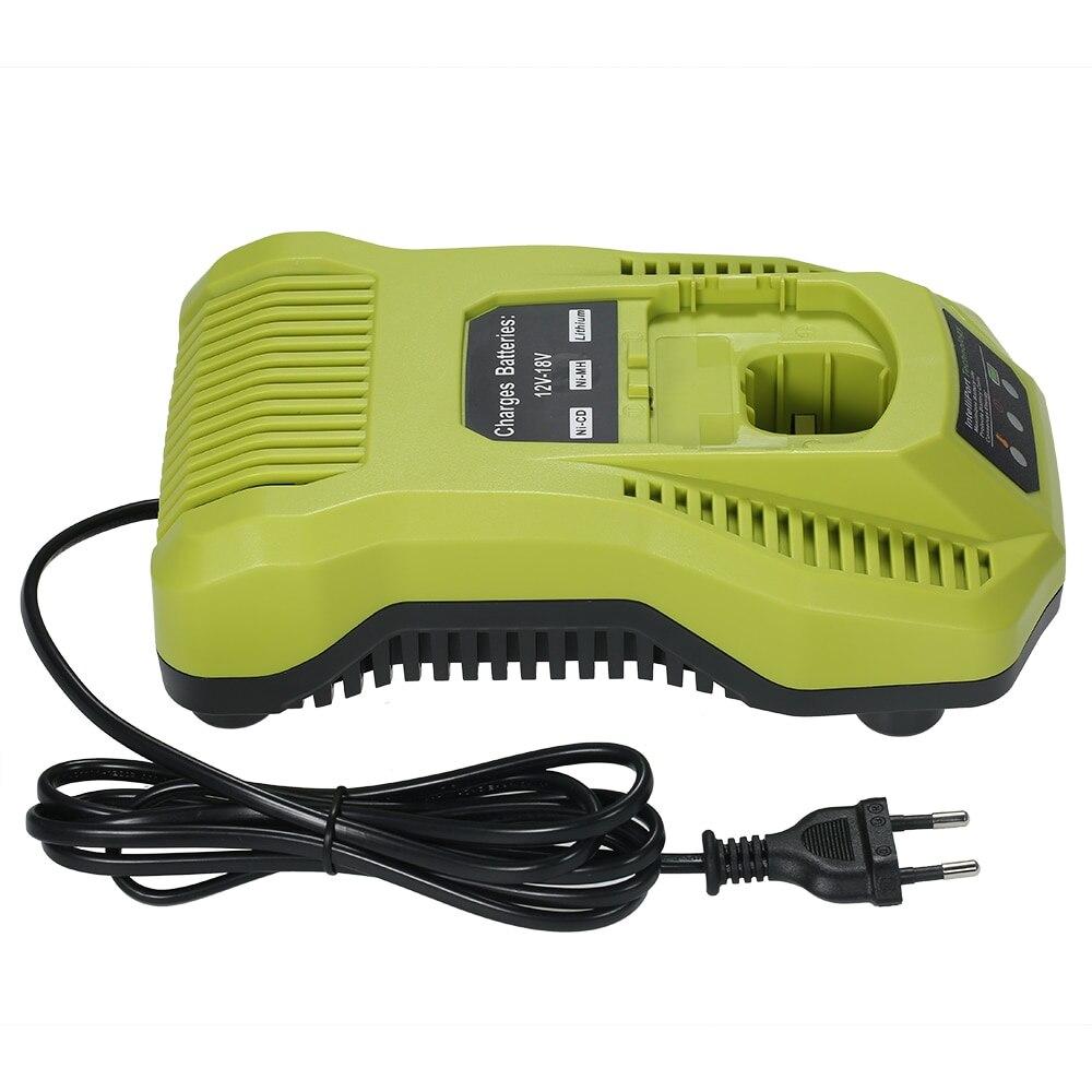 P117 chargeur de batterie de remplacement pour 12-18 V NI-CD NI-MH batterie Li-ion pour Ryobi tournevis électrique outils électriques accessoires