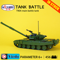 Model Building Toys hobbies T90A main battle tank Compatible With lego Blocks Creative Military Educational DIY Bricks