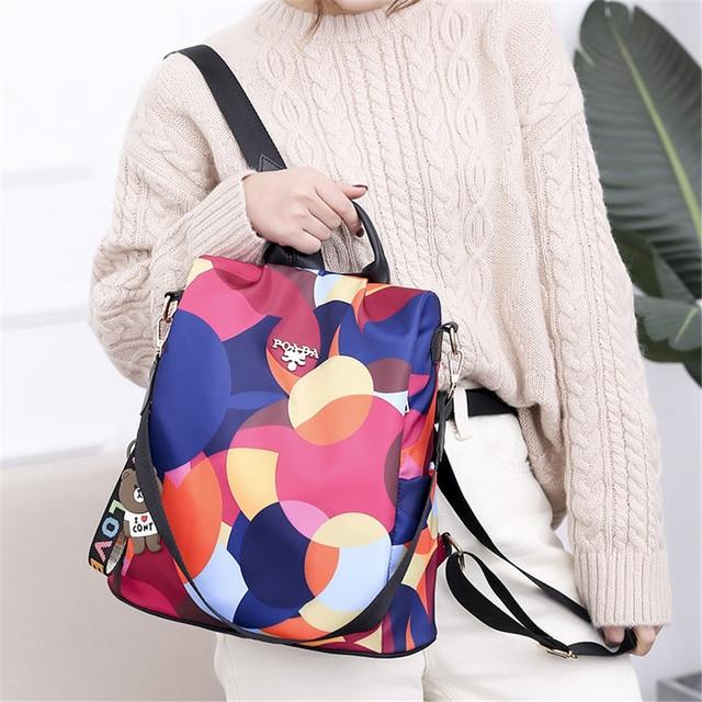 4Styles Anti-theft Women Backpack Swimbag  2