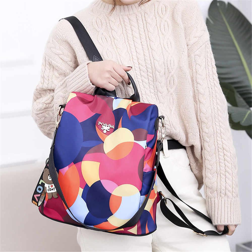 4 stilleri anti-hırsızlık kadın yüzme sırt çantaları bayanlar büyük kapasiteli Swimbag su geçirmez Oxford sırt çantaları