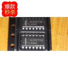 10 ピース/ロット TL064 TL064C TL064CDR TL064CDT SOP14 3.9 ミリメートルオペアンプ new 原文