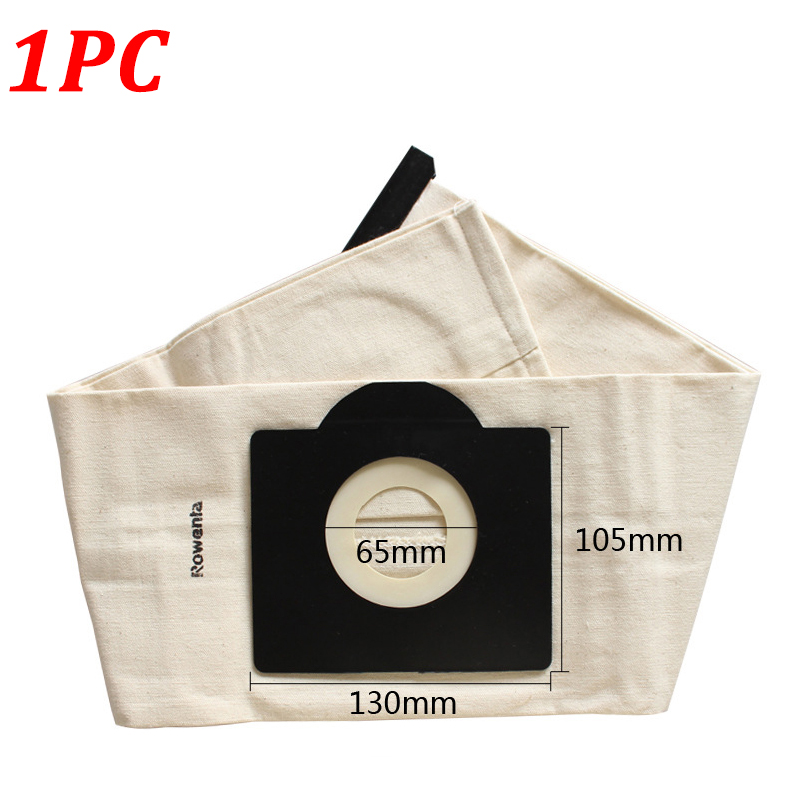 1Pc Washable Cloth Dust Bags For Karcher WD3 MV3 SE4001 A2299 K2201 F K2150 Vacuum Cleaner Spare Parts Replacement Dust Bag