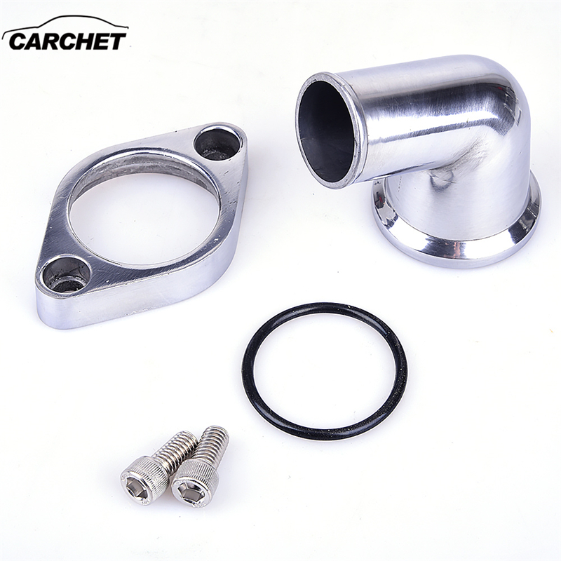 1pc Brand New Polished Aluminum 90° Swivel Water Hose Neck High Quality Suitable For Sb Bb Chevy 327 350 454 396 Goods Of Every Description Are Available Auto Replacement Parts