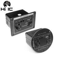 Amplificador de áudio usb de alta potência, novo, 2018, placa de amplificador com subwoofer, controle remoto por usb, para motocicletas, carros e casa
