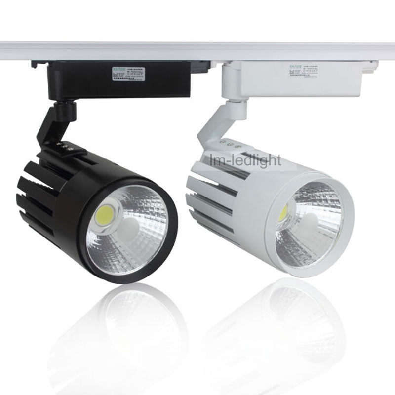 Dimmable LED Track Lights 20W Replace Halogen Lamps 200W