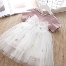 Baby Girls toddler dresses princess costume christmas tutu party dress for little girl clothing kids elegant robes 2019 clothes