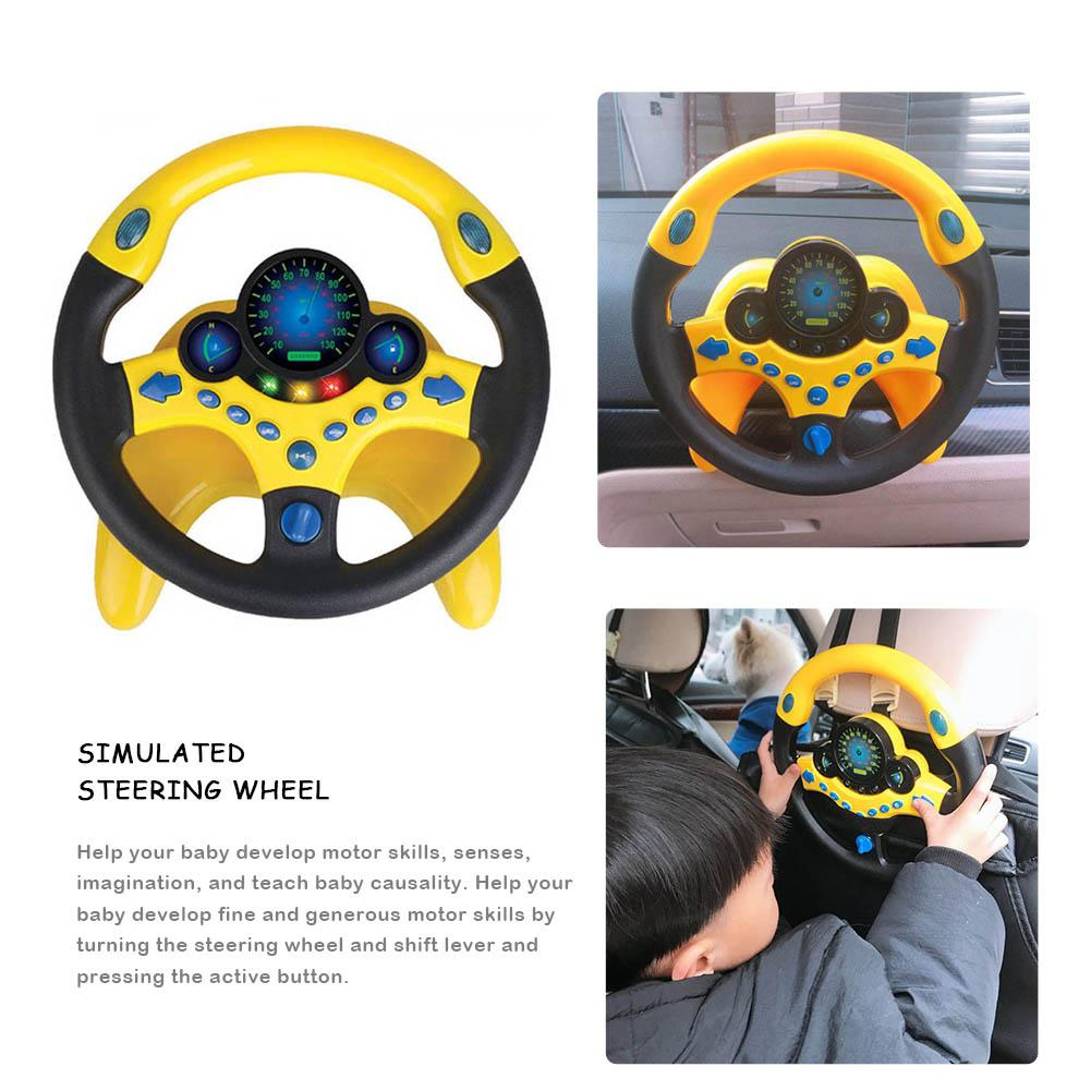 HTB1WcfXje3tHKVjSZSgq6x4QFXay - Simulation Small Steering Wheel Toy Copilot Simulated Steering Wheel