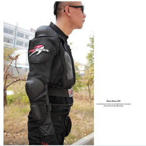 Image 4 - Motorrad Jacke Rüstung Winter Jacke Männer Shatter Beständig Racing Full Body Protector Polyester Outdoor Reiten Getriebe Kleidung