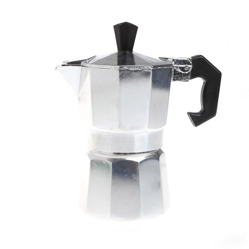 Aluminum 1/3/6/9/12 Cup Latte Mocha Coffee Pot Stove Top Espresso Maker Tool все цены