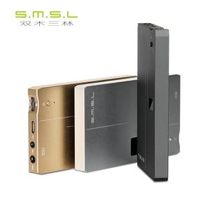 Image 1 - SMSL الذكاء USB DAC و مضخم ضوت سماعات الأذن DSD512 ESS E9018Q2C XMOS Xcore200XU208 32bit/768 kHz HI RES OLED عرض حجم التحكم