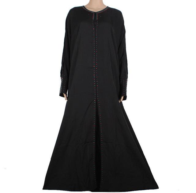Más nuevo vestido abaya Musulmán ropa Islámica para las mujeres hijab musulmán vestido ropa tradicional vestido de dubai abaya turco 90M5341