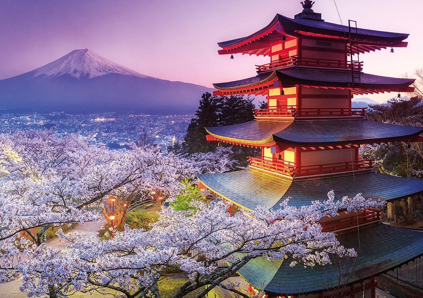 Educa japon Mt. Fuji puzzle 2000 pièces