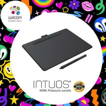 Wacom Intuos CTL-4100 Digital Graphic Drawing Tablet 4096 Pressure Levels Small Size 관절 마이크 스탠드