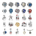 2016 Winter Collection Authentic 925 Sterling Silver Charm Beads Fits For Pandora Bracelets Jewelry DIY Making Christmas