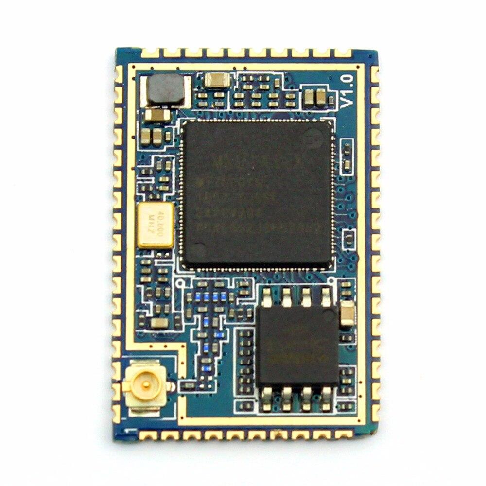 1Pc HLK-RM08S UART Serial WiFi Module Two-serial Port Intelligent Household for Wireless Router MT7688K HLK RM08S