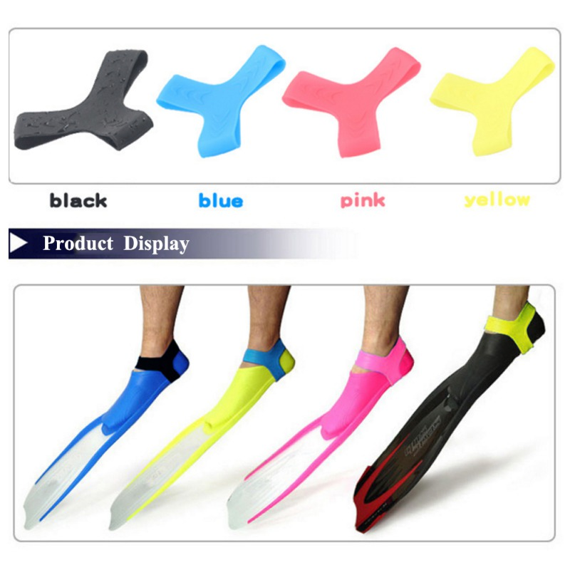 2019 Summer Ankle Fixed Lock Dive Ankle With Diver Fixed Silicone Handle Diving Swimming Accessories