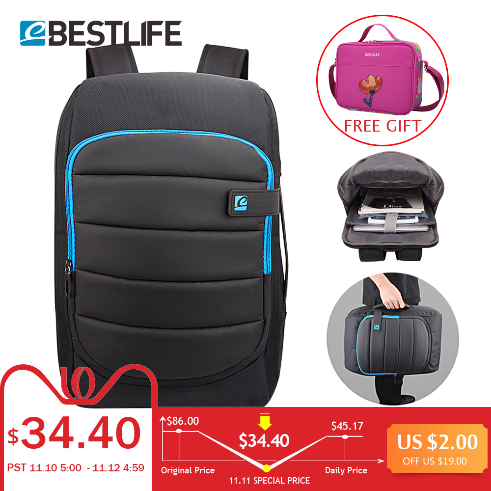 BESTLIFE Rubber Transform backpack Multi-functional Waterproof anti-theft Laptop Backpack For travel bags mochila masculina tuguan new anti theft backpack canvas backpack men waterproof multi function travel school bag mochila masculina laptop bagpack