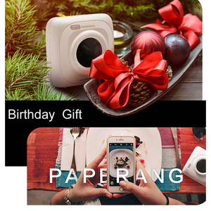 Image 2 - PAPERANG Mini Nhiệt Bluetooth Máy In Di Động Hình Ảnh Máy In Cho Điện Thoại Di Động Android IOS Impresoras Fotos Tặng