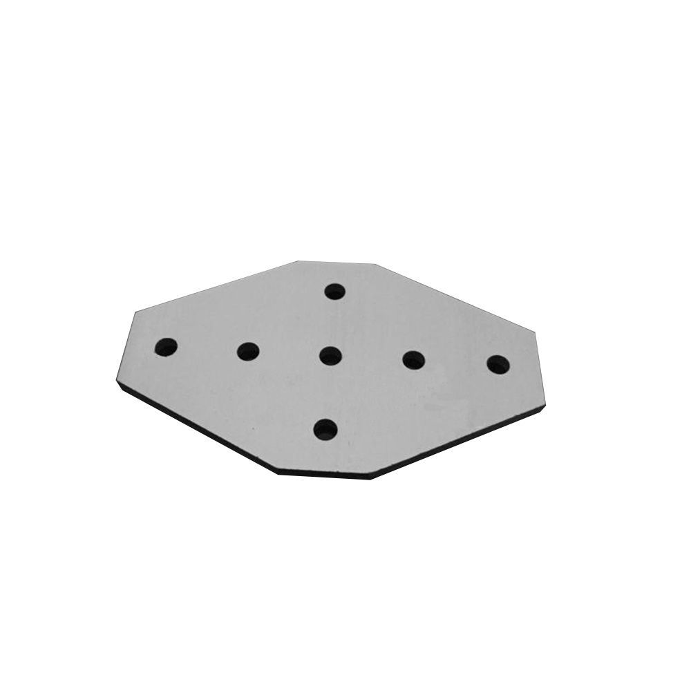 1PCS 7 Hole 2020/3030  Cross Type 90 Degree Joint Board Plate Corner Angle Bracket Connection  For Aluminum Profile
