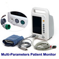 7 inch CE approved ECG ICU Monitoring Equipment Vital Signs Monitor DHL/EMS shipping