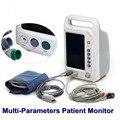 7 polegada CE aprovado Equipamentos de Monitoramento de Sinais Vitais UTI ECG Monitor DHL/EMS grátis