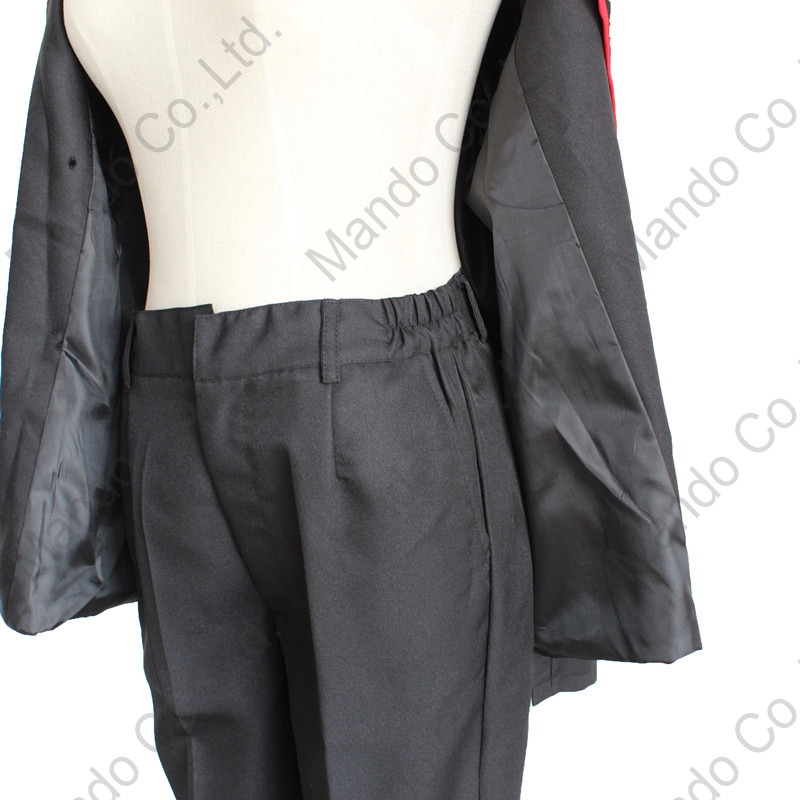 Anime D.Gray-man Allen Walker Cosplay Costumes Man uniform Suit - Costumes - Photo 6