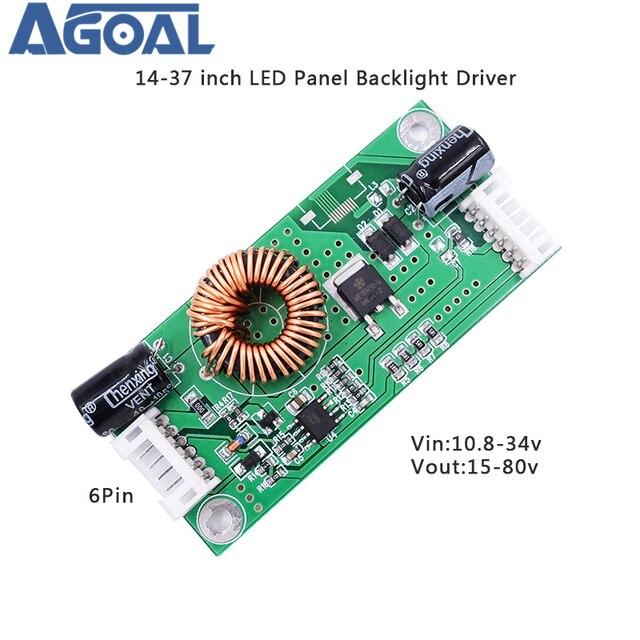"""14 37 """"placa atual constante da tevê do lcd da placa 14 37 Polegada do motorista da lâmpada do luminoso do diodo emissor de luz"""