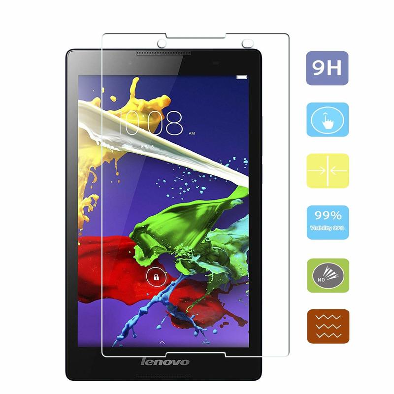 Tempered Glass For Lenovo Tab <font><b>3</b></font> <font><b>850</b></font> 850M 850F 850L Tablet Screen Protective Film For Lenovo Tab 2 A8-50 A8-50F A8-50LC Guard image