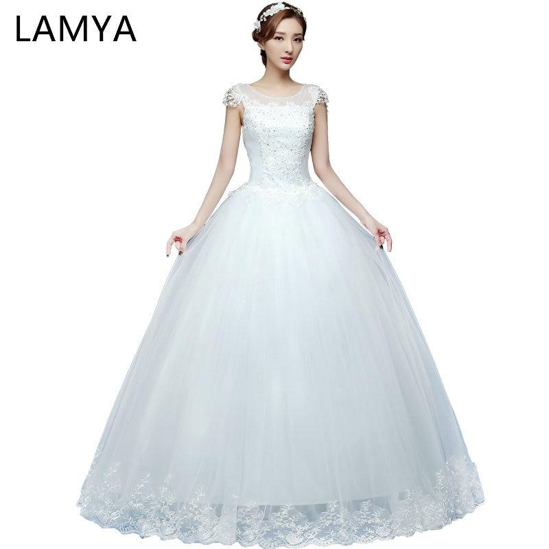 8870e96f84 Lamya Princess Fashin Plus Size Sweetheart Wedding Dress 2018 Cheap Bridal  Gown Lace Dresses casamento robe de mariage