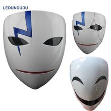Anime Dunkler Als Schwarz Hei Lee Party Gebrochen Masken Cosplay Requisiten Halloween Li Shenshun Lächeln Harz Masken