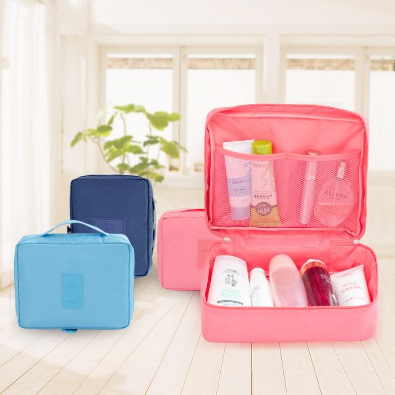 2018 Man Women Organizer Toiletry Cosmetic Bag Beauty Case Make Up Organizer Zipper Toiletry Bag Travel Wash Pouch Wholesale
