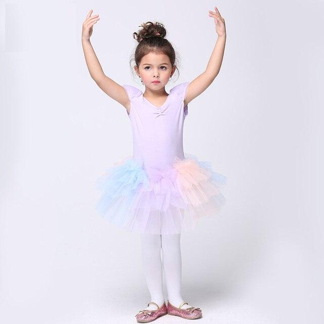 e07389c29 Purple Tutu Danse Ballet Costumes Girls 2 10Y Ballerina Tutu Dress ...