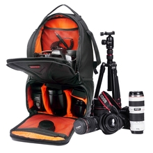 Professional For iPad Sony Nikon Canon Camera Video Bag DSLR Camera Bags Xiaomi Gopro SJCAM Action Cam Sports Backpack