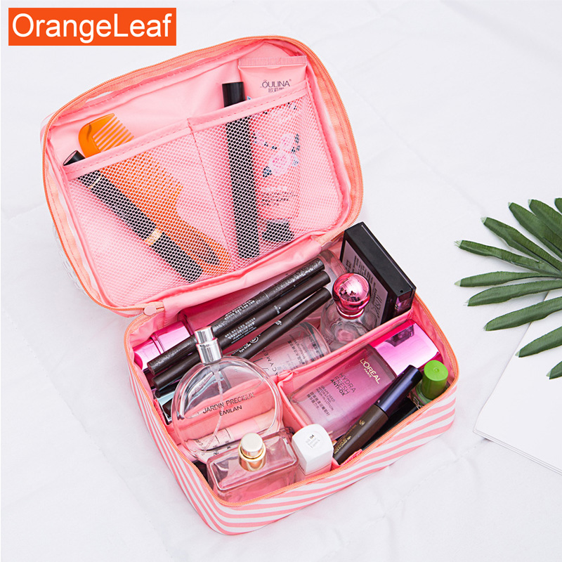 New Toiletry Organizer Beautician Kits Necessity Travel Big Capacity Waterproof Cosmetic Bag Portable Makeup Bag Wash Gargle Bag