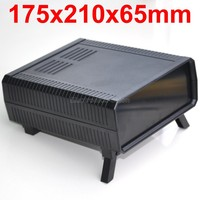 HQ Instrumentation ABS Project Enclosure Box Case Black 175x210x65mm