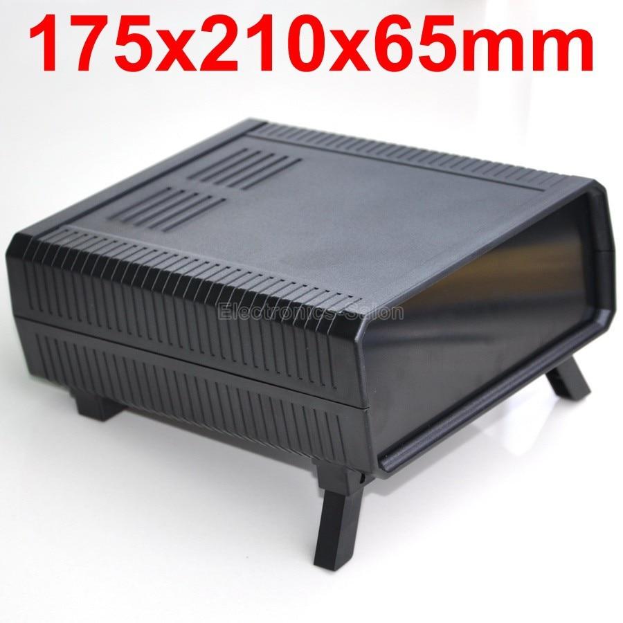HQ Instrumentation ABS Project Enclosure Box Case,Black, 175x210x65mm.