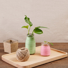1 Pcs Hemp DIY Trussing Tying Arts Crafts Hangtag Gift Home Decorating Gardening Cooking Twine -Drop