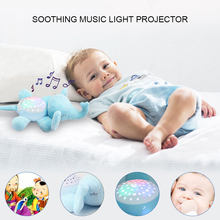 Sleep Music Toys Plastic Sing Song Projection Hobby LED Cultivate Interest Kids Educational Intelligence(China)