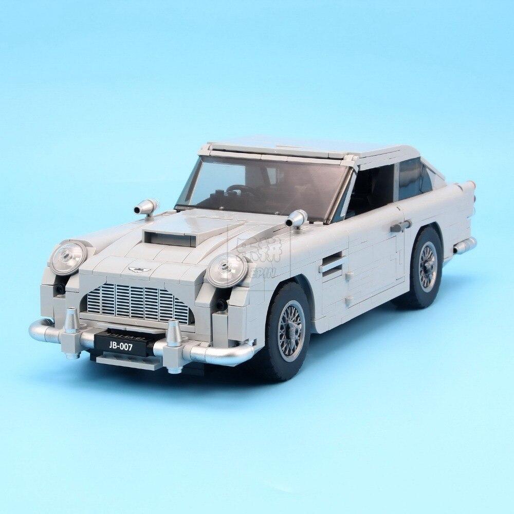 Lepin 21046 Créateur Série D'experts Aston Martin DB5 Compatible Avec 10262 Briques Modèle Blocs de Construction Jouets Éducatifs