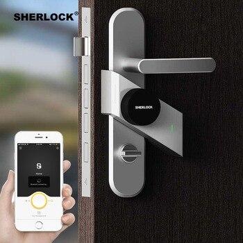 Sherlock S2 Smart Door Lock Home Keyless Lock Fingerprint + Password Work Electronic Lock Wireless App Phone Bluetooth Control