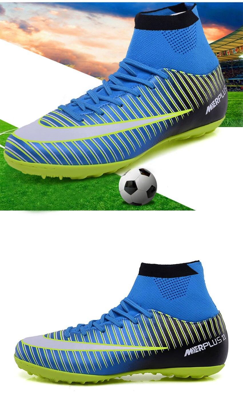 ... de cohechar un Zapatillas de fútbol profesionales hombres mujeres  césped fútbol zapatillas de interior Superfly Futsal Original entrenamiento  botas de ... f553481c1aca4