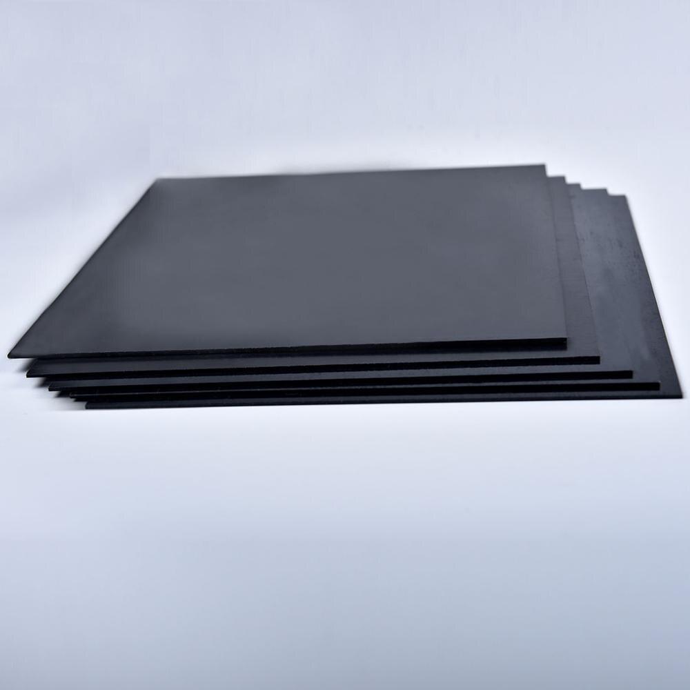 200mm * 250mm bricolage modèle en plastique ABS styrène plat feuille plaque matériaux pour les bâtiments de Train feuille modèle de construction Kits