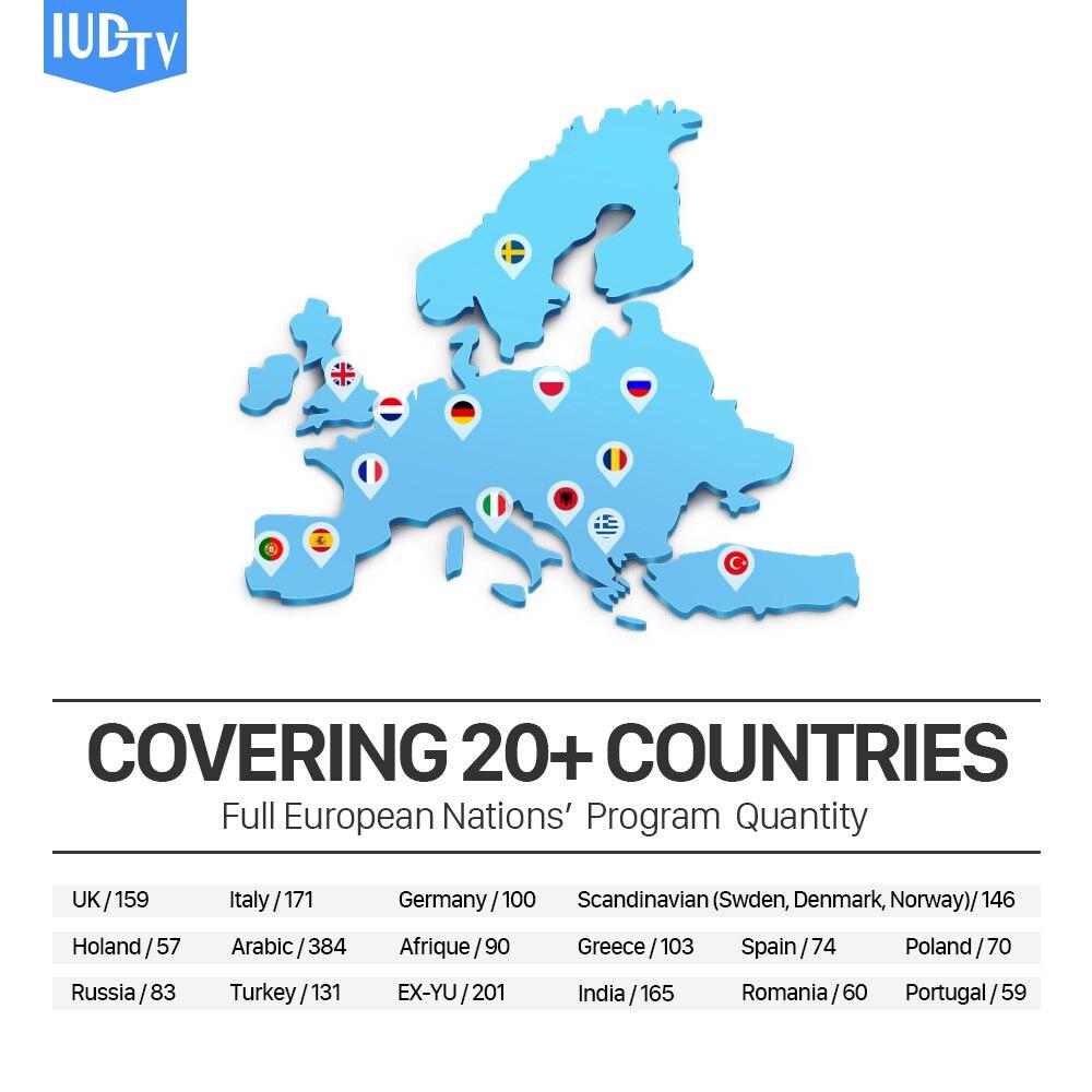 IPTV Spanish Italia MX10 4G64G Android 8.1 TV Box S912 2500+ IUDTV IPTV Europe Turkey Swedish Arabic IPTV Box MX10 IP TV Box (2)