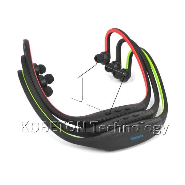 Precio más bajo Deporte Universal Manos Libres Estéreo Bluetooth Wireless Headset Auriculares de oído Micro Reproductor de Música para todos los teléfonos