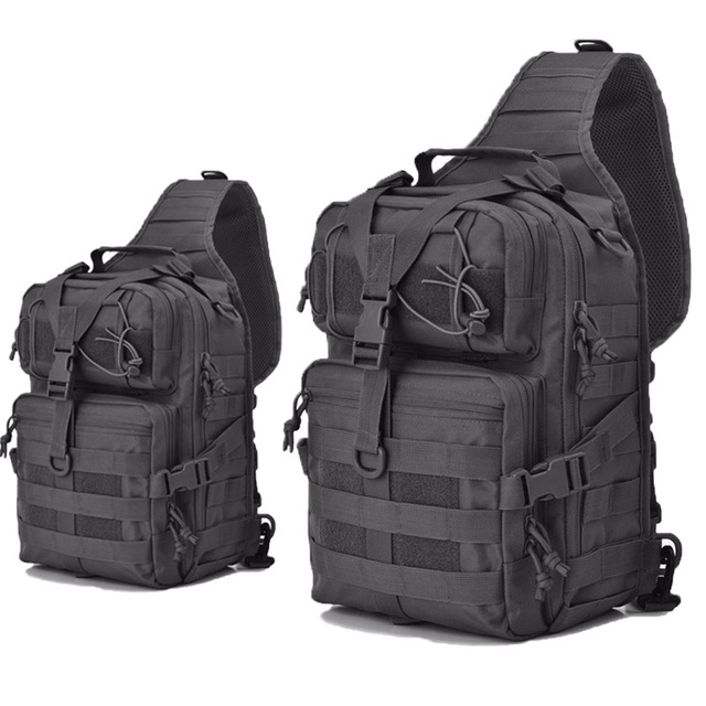 New Version Military Tactical Assault Pack Sling Backpack Molle Waterproof  EDC Rucksack Army Bag For Outdoor Hiking Camping 40L 4b62dd7c92c9b