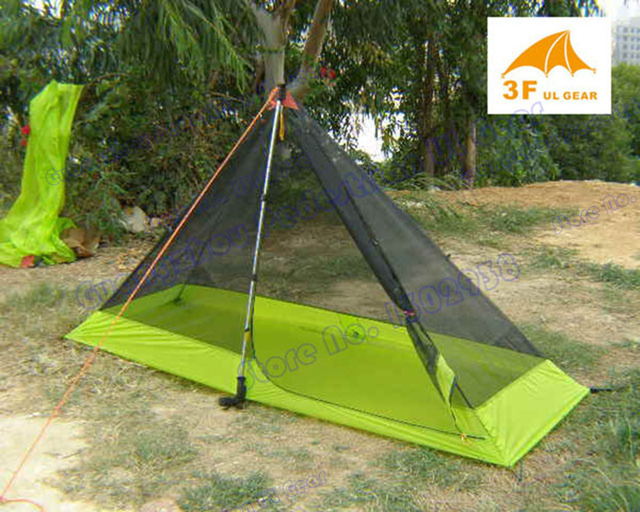 Summer tent 3F Pedesstrian 210T ultra-light high density mesh 1 person inner tent & Summer tent 3F Pedesstrian 210T ultra light high density mesh 1 ...