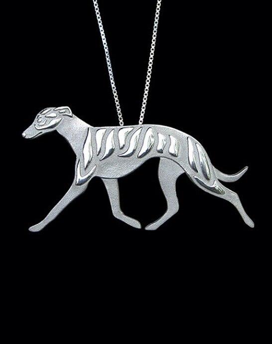 Купить колье для собак whippet greyhound колье ручной работы тисненый